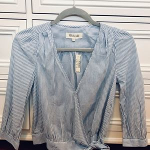 Madewell Stripe Blouse
